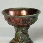 Art nouveau fruit bowl