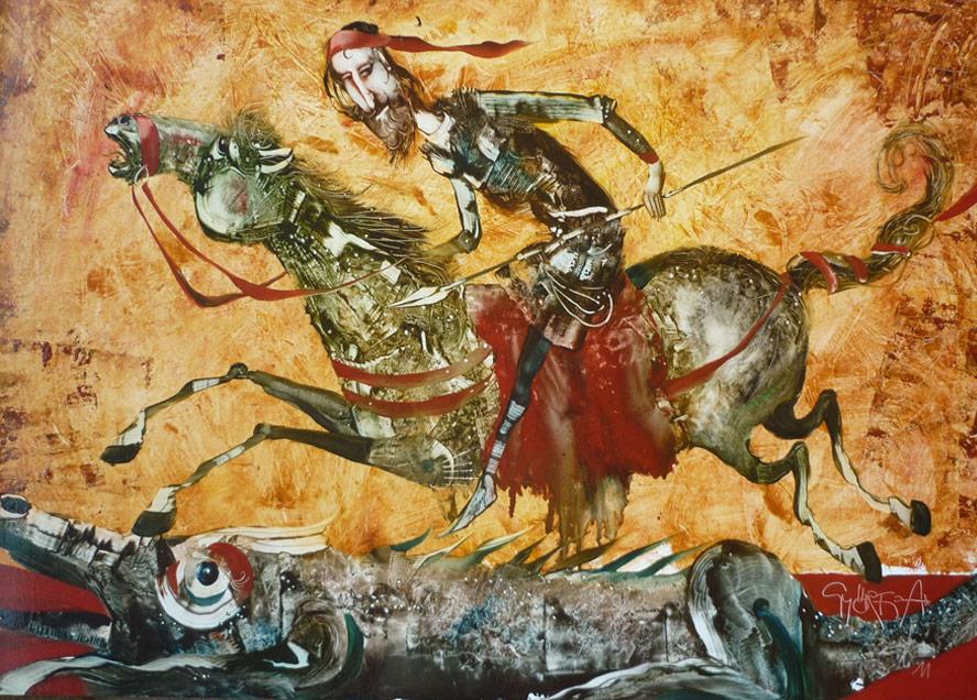András Győrfi: St. George and the Dragon