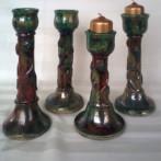 Art nouveau candlestick