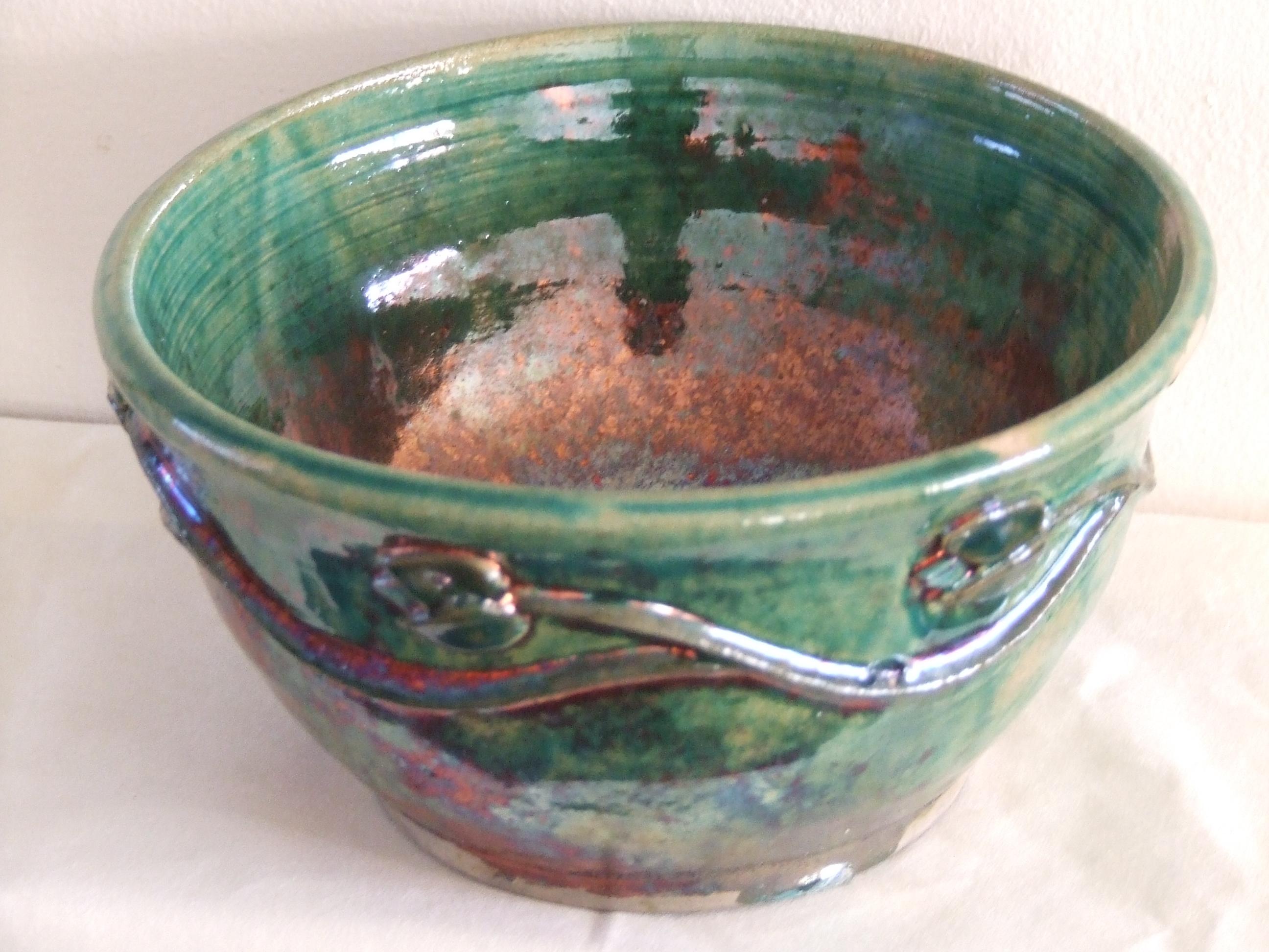 Art nouveau bowl