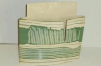 Green striped box