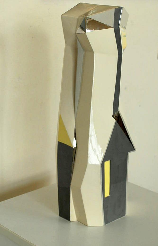 Column with platinum