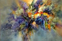 Colorful splendor of lilac
