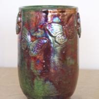 Butterfly vase II.