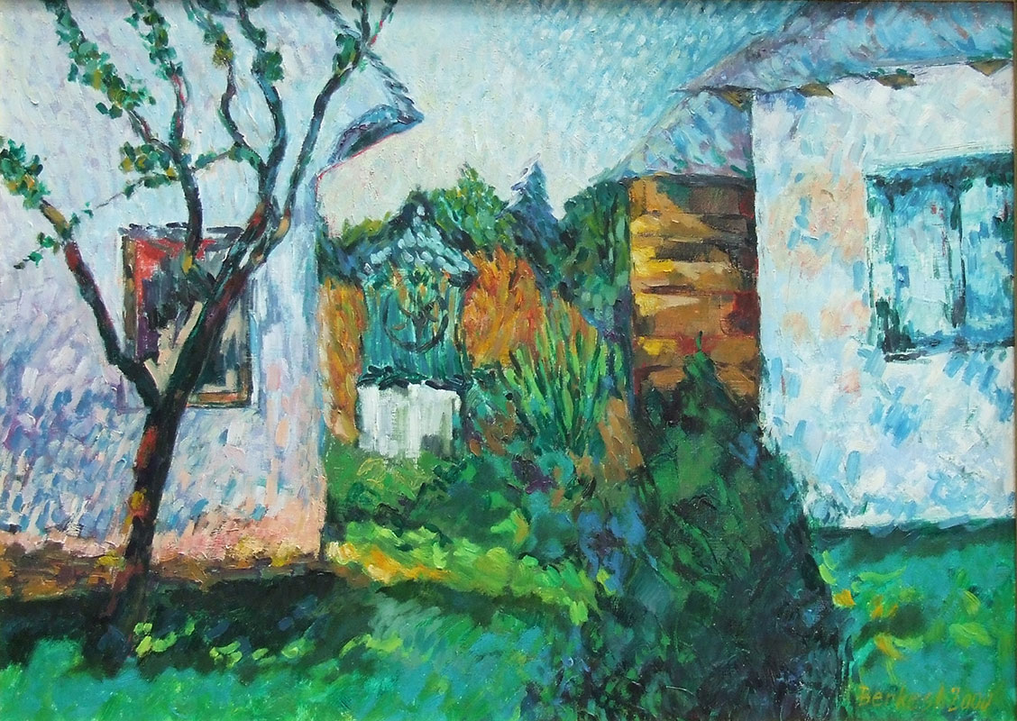 András Berkes: My garden I.